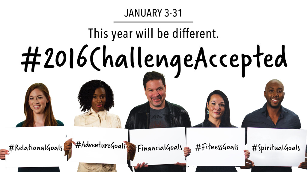#2016ChallengeAccepted
